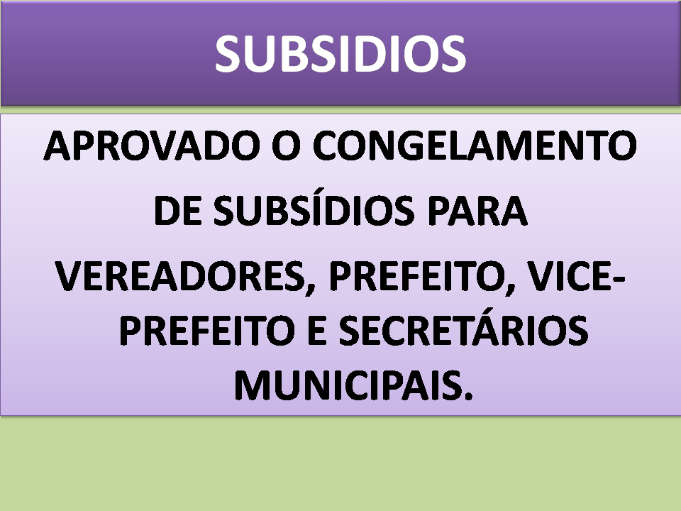 Vereadores de Fundão congelam subsídios do Legislativo e do Executivo